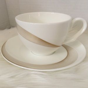 Wedgwood Tranquillity Teacup And Saucer